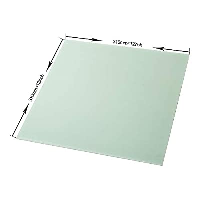 Creality 3D Printer Platform Polypropylene Build Plate for CR-10 CR-10S Easy to Remove Good Adhesive Smooth Surface 310 x 310