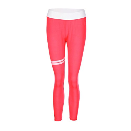 eleganti Pantaloni Donna A Fitness Di Palestra Yoga Vita Sportivi Rosa Cuore Alta Forma Sportivi Smrbeauty Leggins Leggings wqtxIzdq