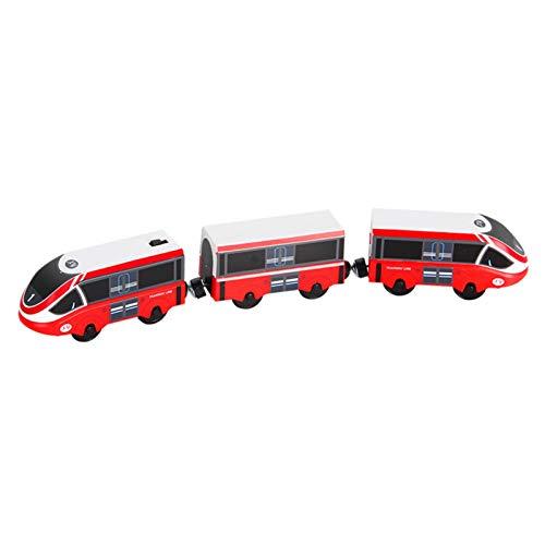 Elektrische locomotief trein elektrisch speelgoed met hoge snelheid op batterijen magnetisch trekspeelgoed kinderen…