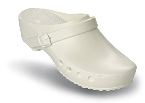 mit Classic Weiß Schürr und ohne Chiroclogs Schuhe mit Fersenriemen OP Fersenriemen qqfxUnzPa1