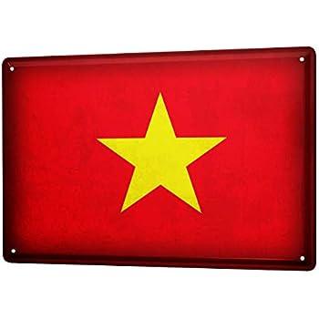 Amazon.com: Señal de estaño mundo viaje de bandera de ...