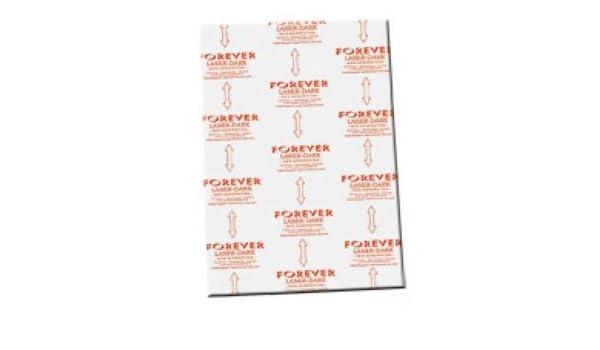 Papel transfer Forever láser Dark – A3 (10 hojas) para impresora ...