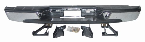 Chevy Silverado 99-07 Bumper Rear Back Chrome Fleetside