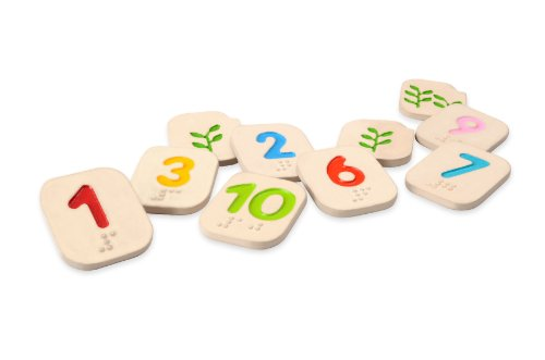 PlanToys Braille Numbers 1 - 10