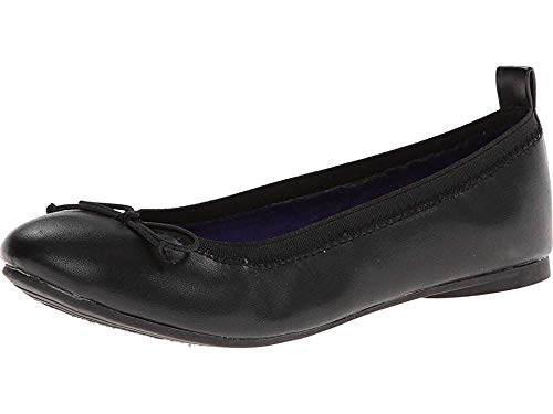 Kenneth Cole Reaction Copy Tap Ballet Flat (Toddler/Little Kid/Big Kid),Black Matte, 13.5 M US Little Kid