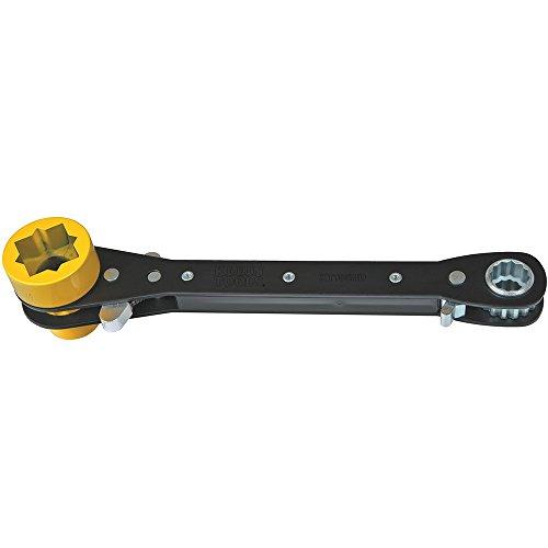 Klein Tools KT155HD 5-in-1 Lineman Wrench, Heavy Duty