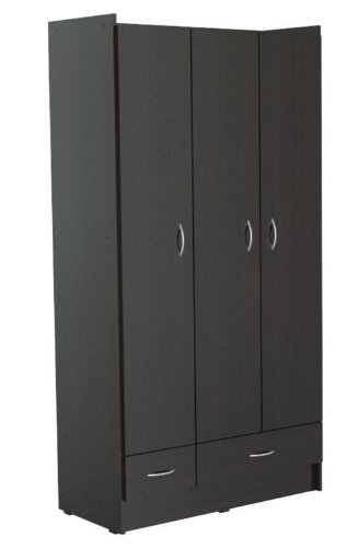 (Inval AM-B623 Armoire, Espresso-Wengue)