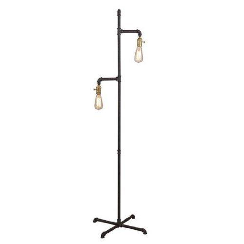 Bassett Mirror Telestar Floor Lamp, Rustic by Bassett Mirror Company