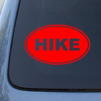 HIKE EURO OVAL Hiking Sticker