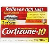 Cortizone-10 Ointment 2 Oz (3 Pack)