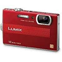 Panasonic Lumix DMC-FP8 12.1MP Digital Camera with 4.6x POWER Opical Image Stabilized Zoom and 2.7 inch LCD (Red) Key Pieces Review Image