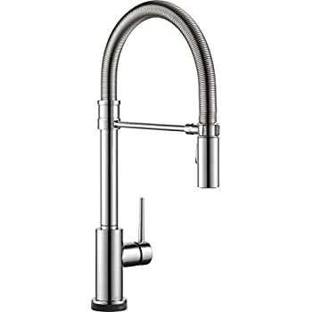 Delta Faucet Trinsic Single Handle Touch Kitchen Sink