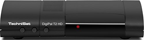 TechniSat DigiPal T2 HD DVB-T2 HD Receiver (DVB-T/DVB-T2, H.265, HDTV, HDMI, Irdeto Zugangssystem, USB 2.0 Mediaplayer, 12V) schwarz