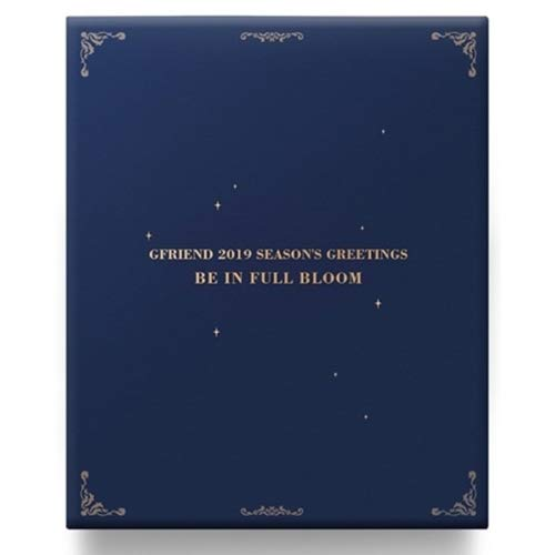 GFRIEND 2019 SEASON'S GREETINGS 200p Diary+26p Desk Calendar+Poster+12min Special Clip DVD+7p Post Card Set +2p Sticker Set+3ea Pencil Set+1p Paper Perfume+Tracking Number K-POP SEALED ()