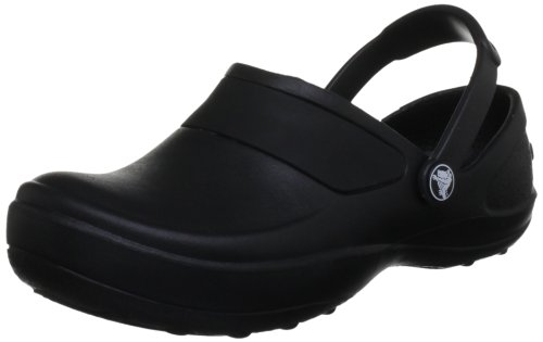 crocs Mercy Work, Damen Clogs, Schwarz (Black/Black 060), 39/40 EU (7 Damen UK)