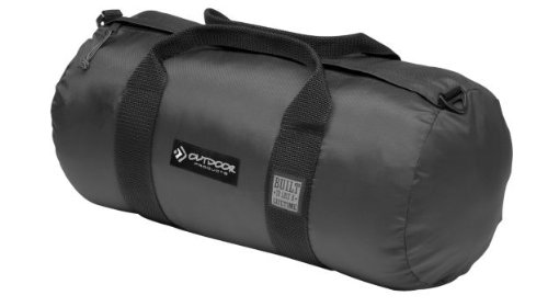 Outdoor Products Deluxe Duffle, Mammoth, Black