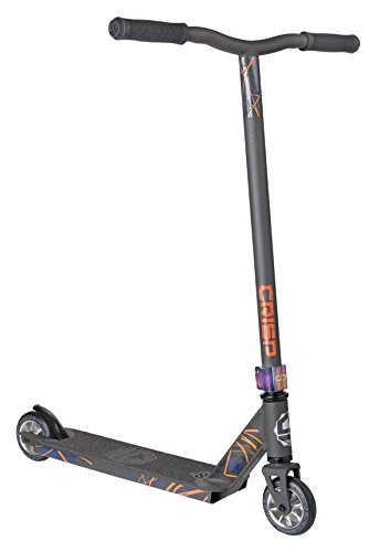 Crisp Blaster Pro Scooter (Satin Grey) (Clamp Pink Pro Scooter)