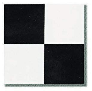 Pieces X Vinyl Stick On Tiles Villa Nova Black And White Self - Black and white square vinyl flooring