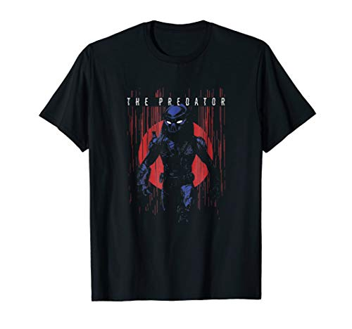 The Predator 2018 Circle Glitch T Shirt for Men or Women