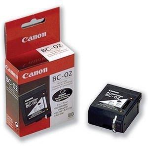 Bc 02 Black Cartridge - BC-02 BLK INK CART BJ-200 BJ-210 BJ-240 BJ-250