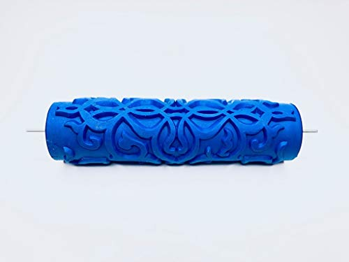Patterned Paint Roller - Moroccan Damask Pattern - 7