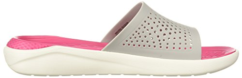 De U Blanc Literide Slide Chaussures White amp; pearl white 115 Piscine Plage Crocs Mixte Adulte UEIwqU
