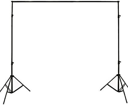 ePhoto 3200 Watt 4 Softbox Photo Video Studio Portrait Lighting with CHROMAKEY Green Black White Screen Background Support Stand Set H9004S469BWG