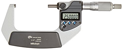 Mitutoyo 293-342-30 Digimatic Outside Micrometer, 2-3