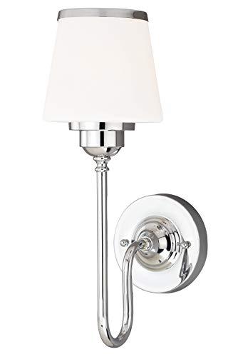 Light 1l Vanity - Vhomes Light Kelsy 1L Vanity Chrome