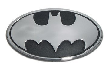 Batman 3D Chrome Metal Auto Emblem, Offi - Metal Car Emblem Shopping Results