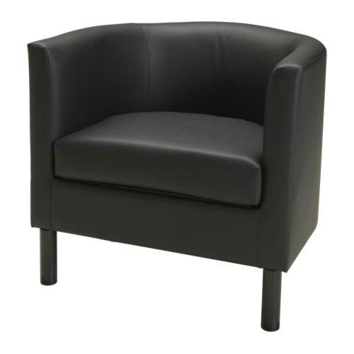 IKEA SOLSTA OLARPアームチェア, イドゥフルト ブラック 101.607.24 B008OCBVC2 Parent