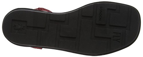 Fly London Damen Mexu914fly Sandalen Rot (rood 007)