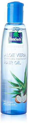 Parachute Advansed Aloe Vera Enriched Coconut Hair Oil for Stronger Smoother Hair (150 ml / 5.1 fl oz)