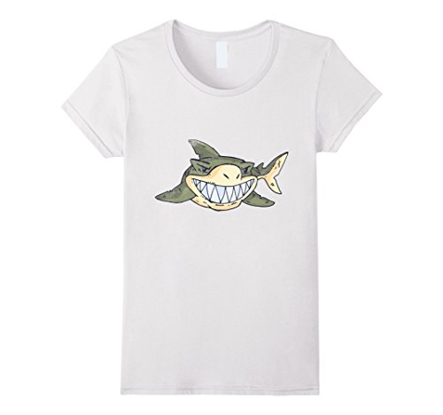 Female Predator Costumes (Womens Shark Costume Always Looking Sharp Cool Gifts Tee T Shirt XL White)