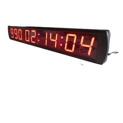 'godrelish 4compte à rebours de 9chiffres LED/jusqu'à Horloge dans jours heures minutes, secondes Télécommande infrarouge LED jours compte à rebours