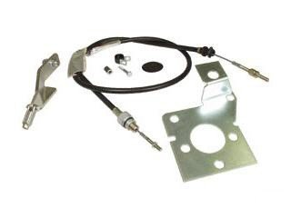 Image Unavailable. Image not available for. Color: Mustang Clutch Cable Kit T5 ...