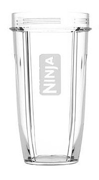 Original 18oz Nutri Ninja Compact Cup BL450 (Transparent) includes Sip and Seal Lid - BPA FREE -