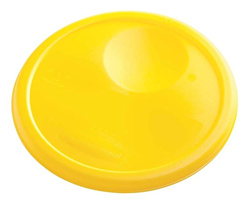Rubbermaid Commercial Products FG572500YEL Lid for Round Foo