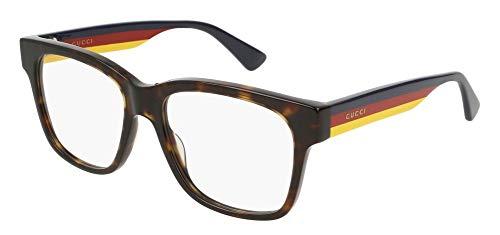 Gucci GG0342O Eyeglasses 006 Havana/Multicolor 56 mm ()