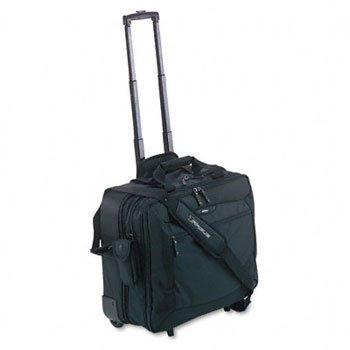 Targus Rolling Travel Notebook Case CASE,NOTEBOOK,ROLLING,BK (Pack (Targus Rolling Travel Notebook Case)