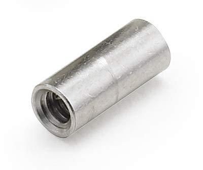1000 //Bulk Pkg. 1//4 OD x 3//16 L x 4-40 Thread Aluminum Female//Female Round Standoff Plain