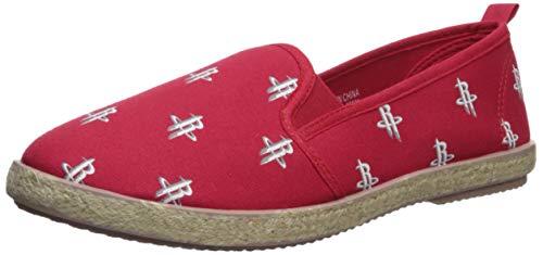 Houston Rockets Espadrille Canvas Shoe - Womens Large