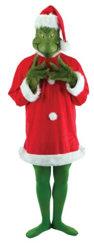 [Grinch Deluxe Men's Costume (L/XL)] (The Grinch Costumes)