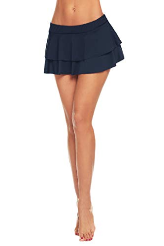 d9ca218b46 Avidlove Women Role Play Mini Plaid Skirt Sexy Schoolgirl Lingerie ...
