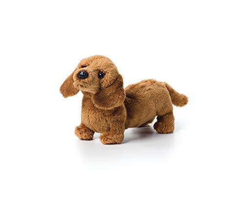 (DEMDACO Light Brown Dachshund Children's Plush Beanbag Stuffed Animal)