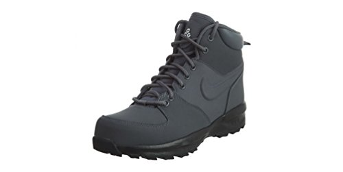 NIKE Manoa LTH Dark Grey/Dark Grey-Black-Sail (GS) (6 M US Big Kid)