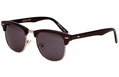 Style Eyes Optics Soho M Smoke sunglasses, Black, One - Soho Optics