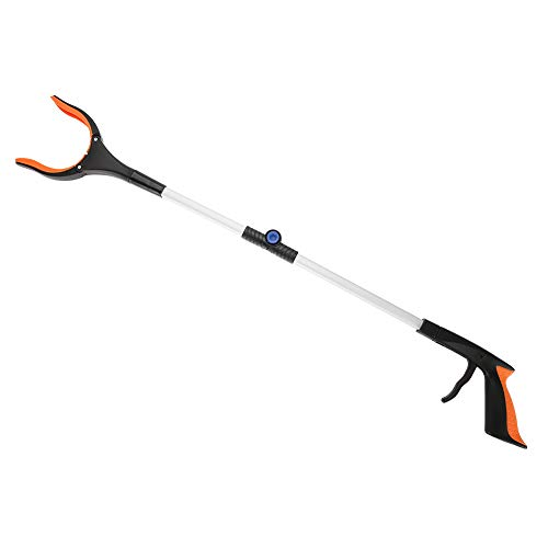 Prullenbak plukker – Dewin inklapbare schaalbare grijper reacher, roteerbare grijper mobiliteit hulp bereiken assistent…