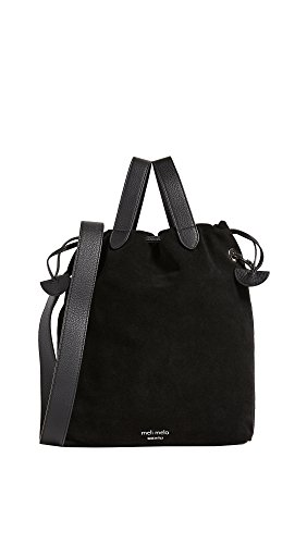 meli melo Women's Hazel Drawstring Bag, Black, One Size by meli melo