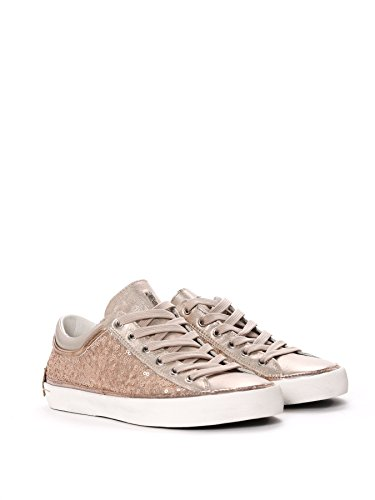 CRIME LONDON FEMME 2501015 OR CUIR BASKETS